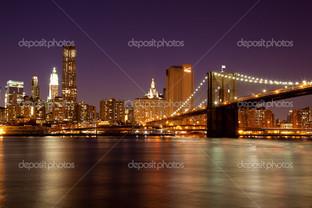 Нью-Йорк Манхэтен мост