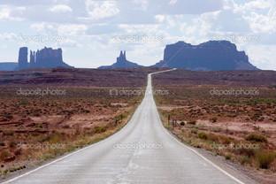 дорога в серые горы