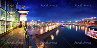 ночь Москва река
