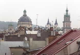 городской пейзаж Львов