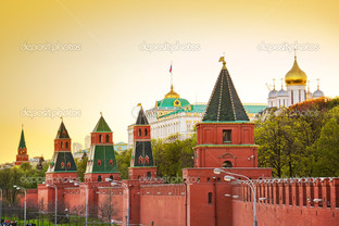 стена Кремль