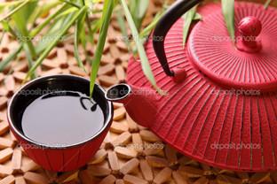 в японском чайнике