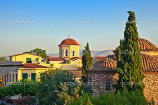 церковь площадь Афины
