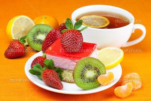 сладости и чай