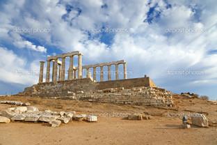 руины храм Посейдон