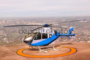 вертолет парковка