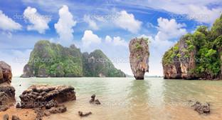 острова залив Пханг-Нга Таиланд