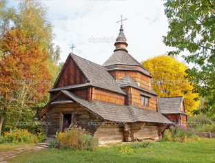 старые деревянные церкви