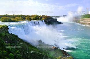 Ниагара водопад