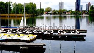 лодки на Дунае