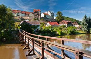 Подвесной мост Чехия