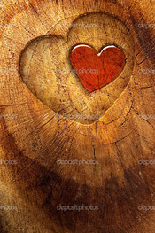 дерево сердце