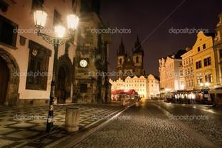 старая площадь в Праге