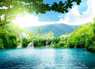 маленькие водопады