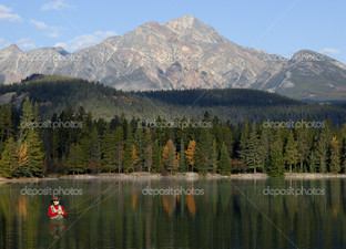 рыбалка в скалистых горах Альберта Канада