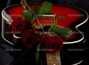 гитара роза