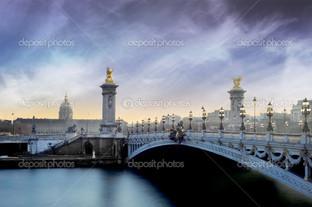 Александр 3 мост Париж