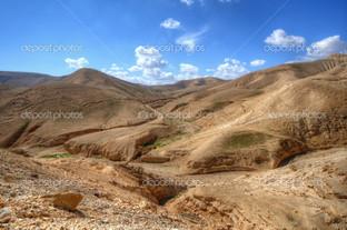 Пустыня ландшафт