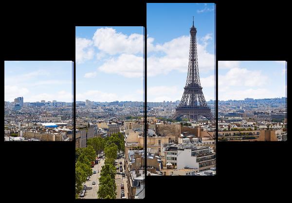 Башня в Париже, Франция