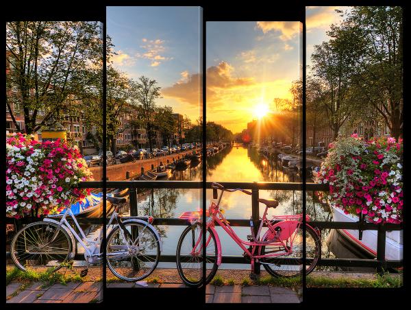 Голландия и цветы