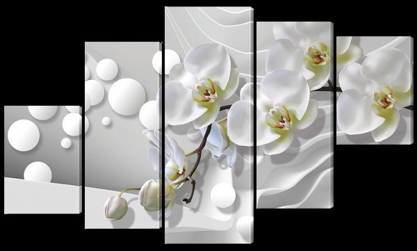 Орхидеи и жемчуга
