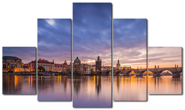Арочный мост в Праге