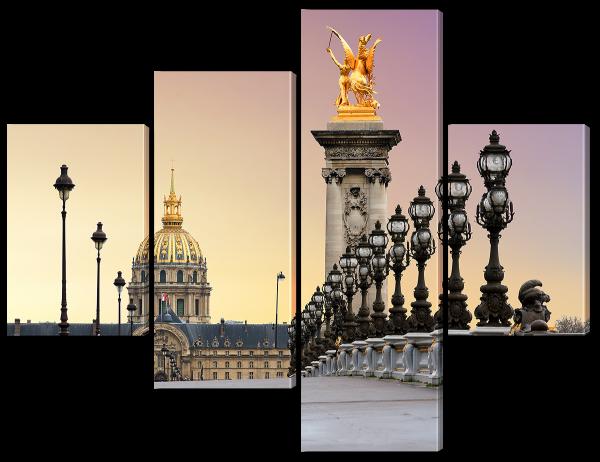Арочный мост в Париже