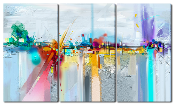Абстрактная живопись, пейзаж