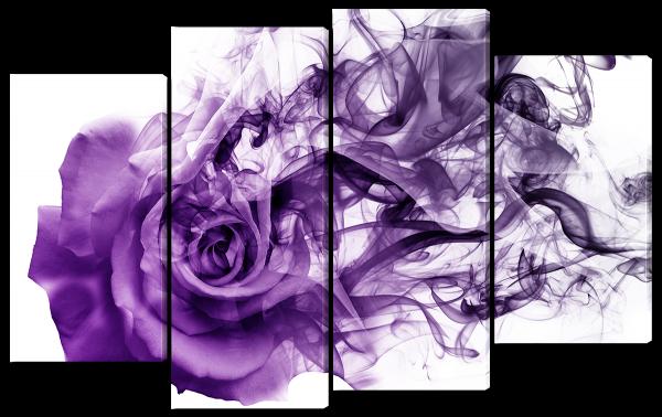 Роза из дыма