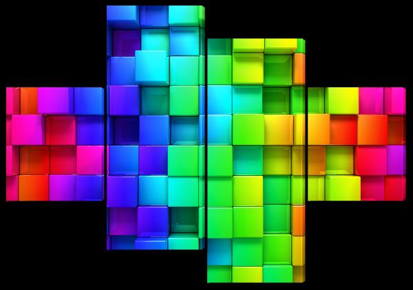Абстракция мозаика