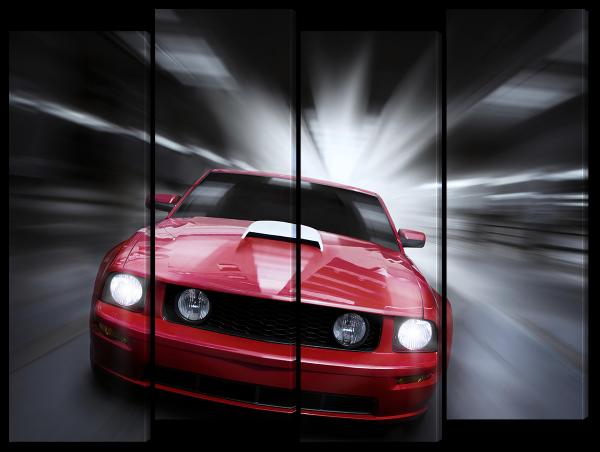 Авто на скорости