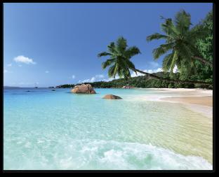 Песчаный берег острова