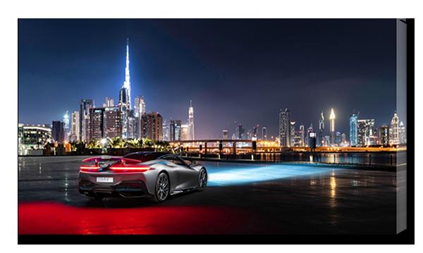 Авто и ночной мегаполис