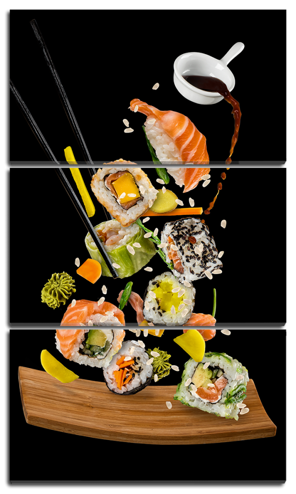 Композиция из суши
