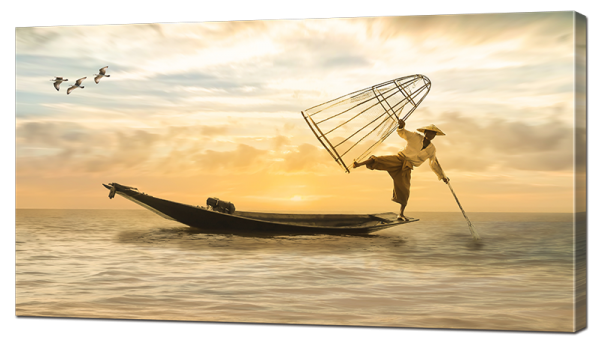 Азиатская рыбалка