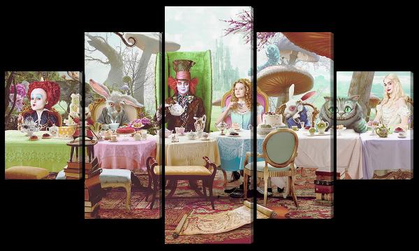 Алиса в стране чудес, герои