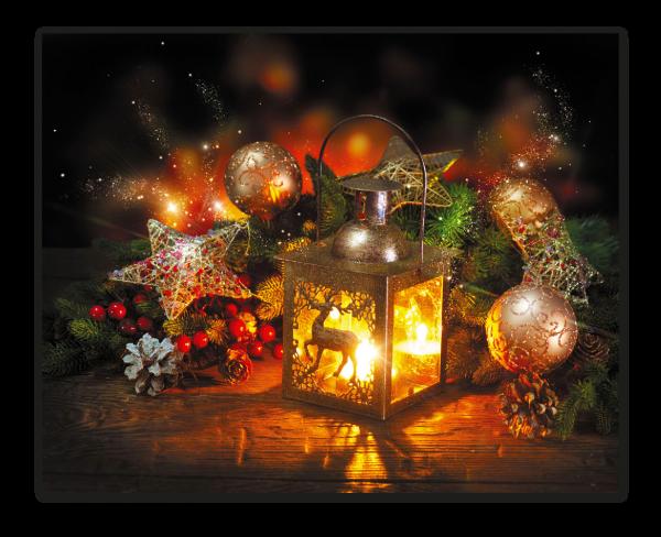 Рождественский фонарь