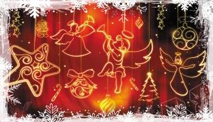 Рождественские узоры