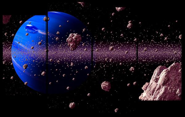 Астероид на орбите