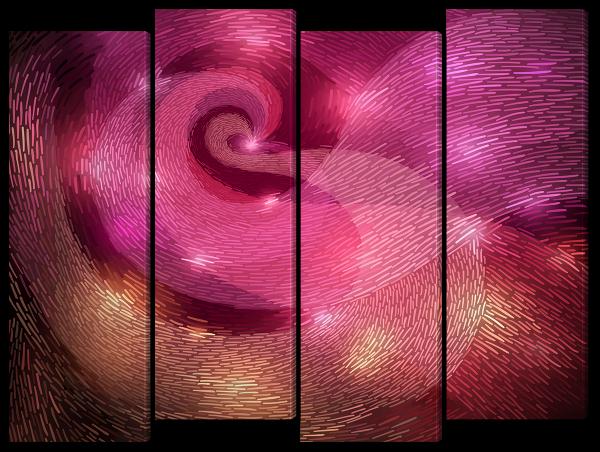 Абстрактный фон, спираль