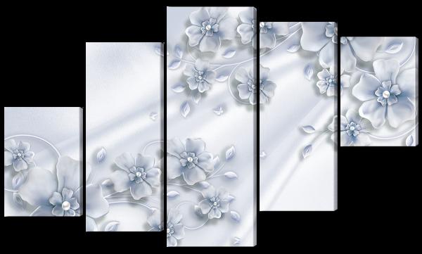 Абстрактные цветки