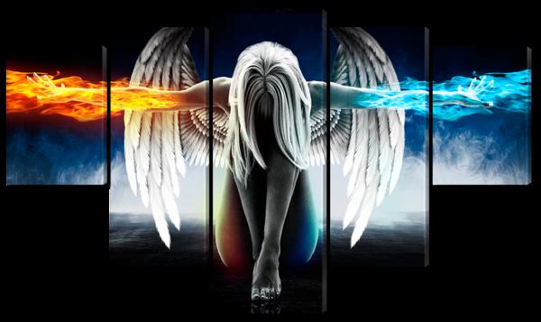 Ангел огонь и лед
