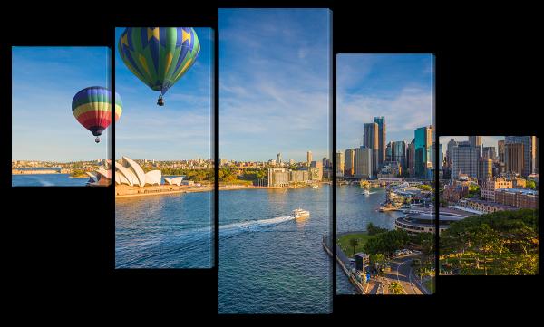 Сидней и воздушные шары