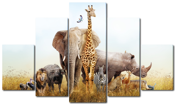 Африканские фауна