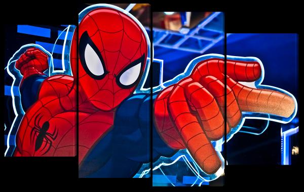 Атака человека паука