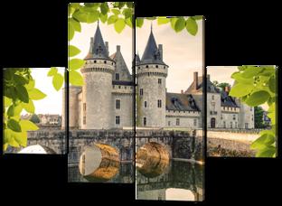 Каменный замок и мост