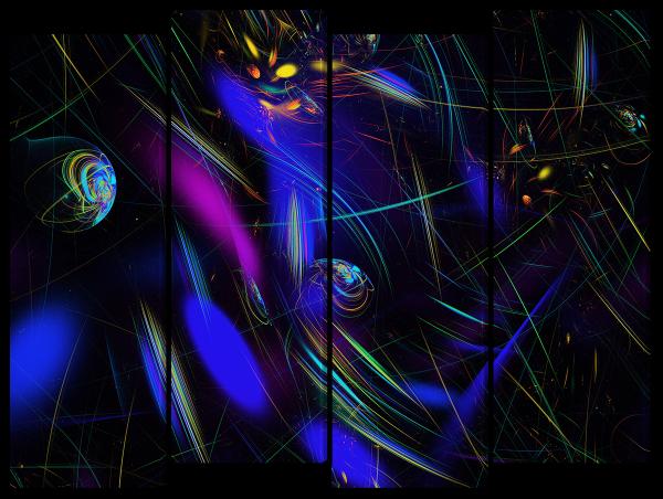 Абстракция космоса