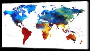 Карта в красках