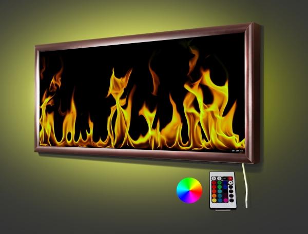 Вид огня  70,5* 32,5 см