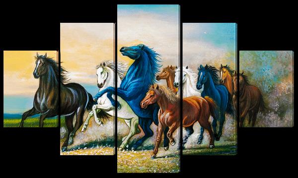 Бегущие лошадки